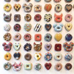 Donut art from Jae Yong Kim.