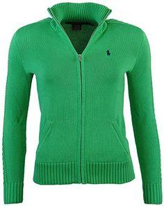 Polo Ralph Lauren Womens Full Zip Cardigan Sweater - XS - Green RALPH LAUREN http://www.amazon.com/dp/B00L4ATBBY/ref=cm_sw_r_pi_dp_UmEhub134H6HG