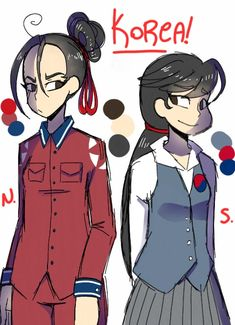 okay so I'm making my own Hetalia (again) and Korea is all I got for now, can someone tell me another country to humanize(?)