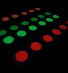 Neon Light Party Ideas   Glow in the dark/ Black light party : Twister.....(any neon paper will ...