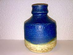 Vase Majolika Karlsruhe 7332 WGP Mid Century 60s 70s Entwurf: Fridegart Glatzle
