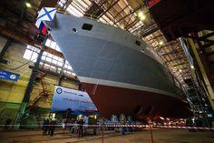 «Игорь Белоусов» — спасательное океаническое судно для ВМФ РФ/ Предназначено для спасения экипажей из аварийных подводных лодок