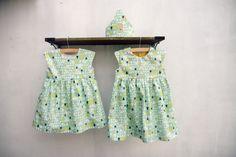 DIY - sew - Geranium dresses in Art Gallery fabric