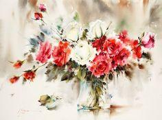 mohammad yazdchi watercolor - Buscar con Google
