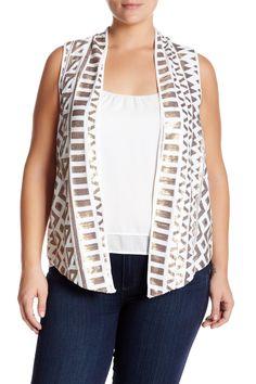 Nerissa Vest (Plus Size)