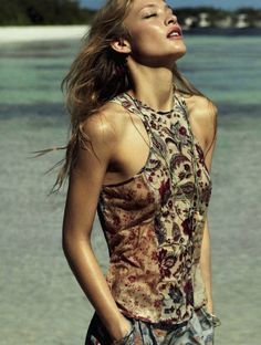Rianne Haspels By Frederic Pinet For Marie Claire UK | July 2012