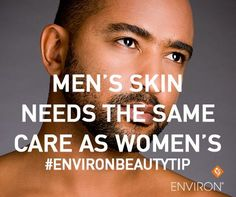 Men adore getting facials, trust us. Book an Environ facial for a man in your life (and for you too) #environ #give