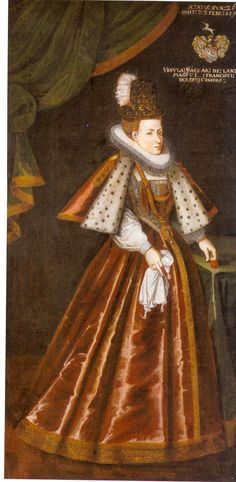Orsolya Császár de Lanzér. Mother of Baroness Orsolya Dersffy de Szerdahely who married Palantine Nikolaus Count Esterhazy  Császár Orsolya 1593