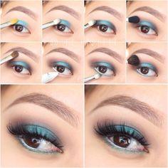 Beyoncé inspired #makeup #blue