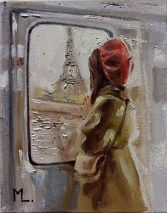 "Buy "" TRAVEL TO PARIS . II "" original painting TRIP SPRING palette knife GIFT GREEN, Oil painting by Monika Luniak on Artfinder. Discover thousands of other original paintings, prints, sculptures and photography from independent artists. Painting Gallery, Oil Painting On Canvas, Paintings For Sale, Original Paintings, Green Gifts, Office Art, Pretty Wallpapers, Sculpture, Simple Art"