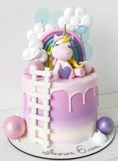 Mermaid Birthday Cakes, Baby Birthday Cakes, Mermaid Cakes, Baby Cakes, Cupcake Cakes, Pastel Cakes, Girly Cakes, Bolo My Little Pony, Cake Decorating Piping