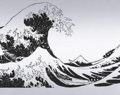 Des vagues de vinyle Wall Decal autocollant grands par Stickerbrand