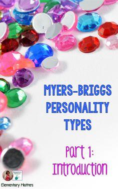 Myers-Briggs Persona