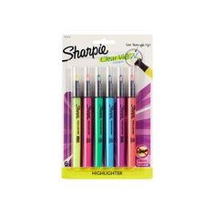 Finish your school supply shopping in minutes by instantly adding available items from your school's supply list to your shopping cart with School List Assist at Target Sharpie Highlighter, Best Highlighter, Highlights, Back To School Hacks, School Stuff, Escape Plan, Gel Pens, Middle School, High School