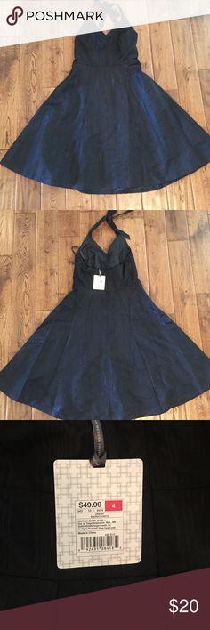 Merona Collection halter dress NWT Merona lined dress.  100% polyester Merona Dresses