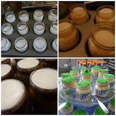 Cupcakes in baby food jars!