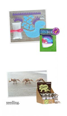 This super-simple sewing based activity provides everything from instructions to materials to make your very own Dino bestie.