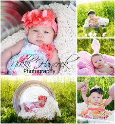 Spring shoot for a 3 month old