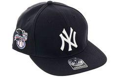 47 Brand New York Yankees Sureshot Snapback Hat - Navy, White - Hat Club