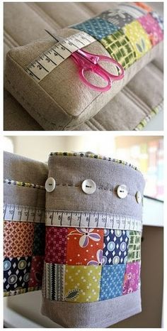 sewing mat, thread keeper & pincushion