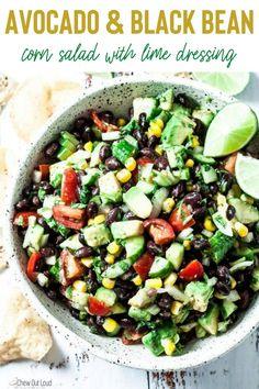 Avocado Recipes, Veggie Recipes, Mexican Food Recipes, Whole Food Recipes, Salad Recipes, Diet Recipes, Vegetarian Recipes, Cooking Recipes, Healthy Recipes