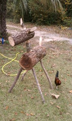 Log Deer, I want this for my yard