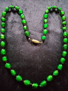 In Eva Dominello's Glass Bead Making class, students will learn how to work hot Venetian glass with a torch to create spectacular, wearable beads White Leaf, Gold Leaf, Australian Art, Venetian Glass, Artist Art, Emerald Green, Glass Beads, Beaded Necklace, Jewels