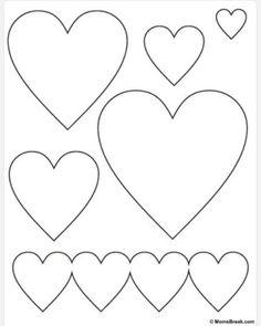 Heart Templates   Paper Plate    Heart Template