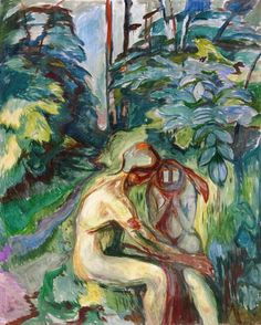 """elpasha711: """" Consolation in the Forest Edvard Munch - 1924-1925 Munch-Museet - Oslo (Norway) """""""