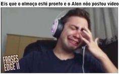 Alan Memes, Alan Ferreira, Youtubers, Youtube Memes, Meme Faces, Reaction Pictures, My Best Friend, Funny Memes, Humor