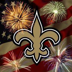 Happy July 4th Saints fans!