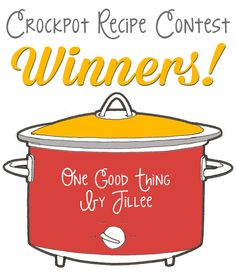Check out the winners of our Crockpot Recipes Contest! Can you say Lemon Cheesecake??? :-)