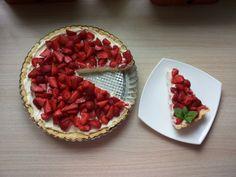 Tarta z serkiem mascarpone i truskawkami