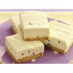 Passionfruit squares recipe - By recipes+