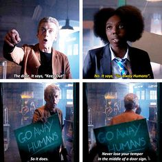 [gifset] 8x06 The Caretaker #DoctorWho