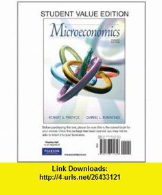 Microeconomics, Student Value Edition (7th Edition) (9780136111856) Robert Pindyck, Daniel Rubinfeld , ISBN-10: 0136111858  , ISBN-13: 978-0136111856 ,  , tutorials , pdf , ebook , torrent , downloads , rapidshare , filesonic , hotfile , megaupload , fileserve