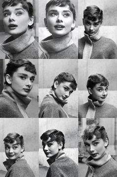 Audrey Hepburn. The only woman to make staring into Tiffany & Co. while eating pastry cool