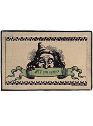 Snark & Sarcasm - WTF Gnome Door Mat by High Cotton Home Decor