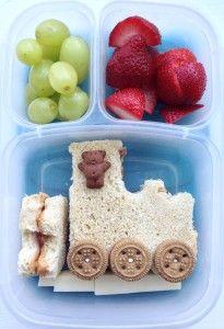 Teddy Bear Train Lunch - RachelsRandom.com