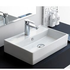 Lavabo TURIN | Thebathpoint Sink, Home Decor, Bowl Sink, Countertops, Modern Design, Sink Tops, Vessel Sink, Decoration Home, Room Decor