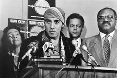 Steven Van Zandt , Coretta Scott-King , Julian Bond (NAACP)