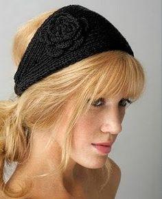 Crochet Headband - Tutorial.