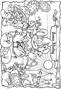 coloring page Efteling on Kids-n-Fun. At Kids-n-Fun you will always find the nicest coloring pages first! Owl Coloring Pages, Disney Coloring Pages, Coloring Pages For Kids, Adult Coloring, Coloring Books, Scooby Snacks, David The Gnome, Color Magic, Color Activities