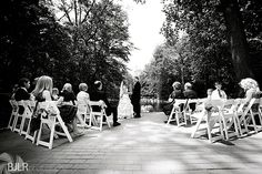 Ceremony at the Reflecting Pond Patio