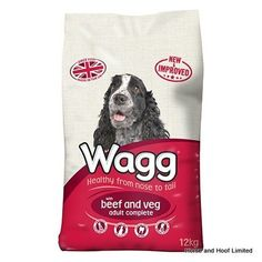 Wagg Complete with Beef Vegetables Wagg Complete with Beef Vegetables is one of the oldest most popular formulas that Wagg has put together.