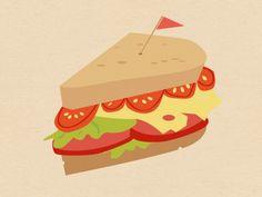 Tiny Sandwich by Carey Blackmore