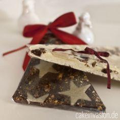 Selbstgemachte Weihnachtsschokolade