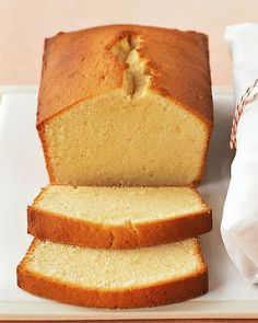 Pound Cake Recipes...pound cake perfection