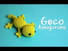 Schema geco amigurumi - Video Tutorial. - Creatività Organizzata