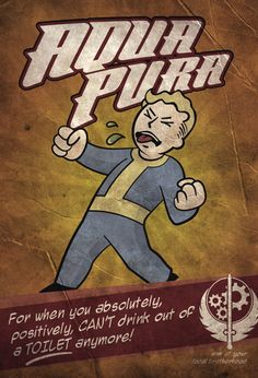 Fallout 3 4 Game Poster Home Furnishing decoration Kraft Game Poster Drawing core Wall stickers Fallout Wallpaper, Mobile Wallpaper, Video Game Art, Video Games, Fallout 3 New Vegas, Fallout Fan Art, Fallout Theme, Fallout Posters, Pip Boy